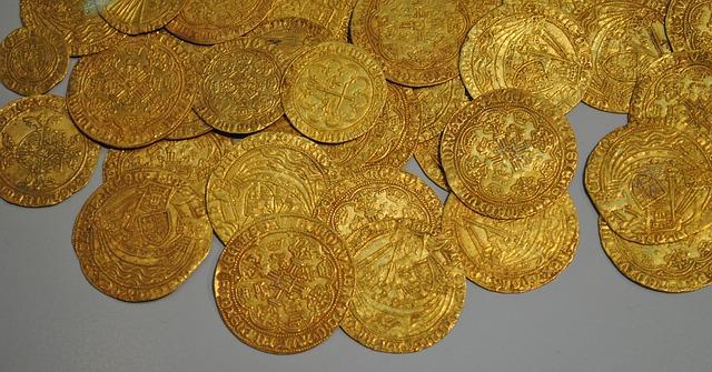 מכירת מטבעות של זהב